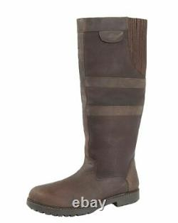 Womens Woodland Waterproof Breathable Waxy Leather Riding Country Boots 3-10