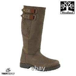 Woodland M306 Blake Mens Dark Brown Waterproof Riding Equestrian Country Boots